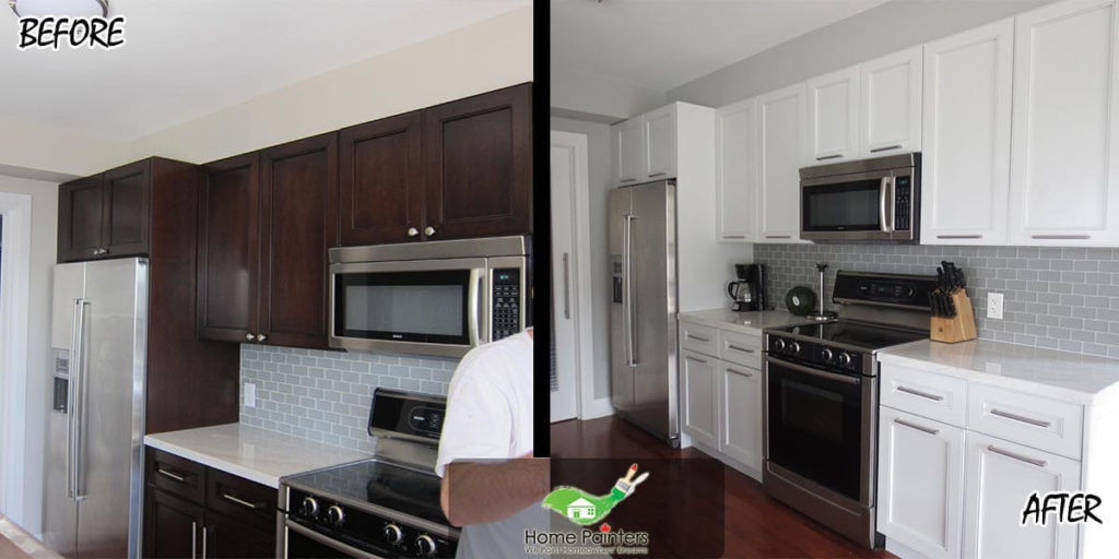 Kitchen Cabinet Painting Refacing Cabinets Doors Mississauga