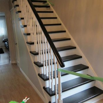 Staircases Repainting Refinishing Staining Services Mississauga